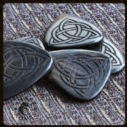Laser Tones - Triquetra - 1 Guitar Pick | Timber Tones